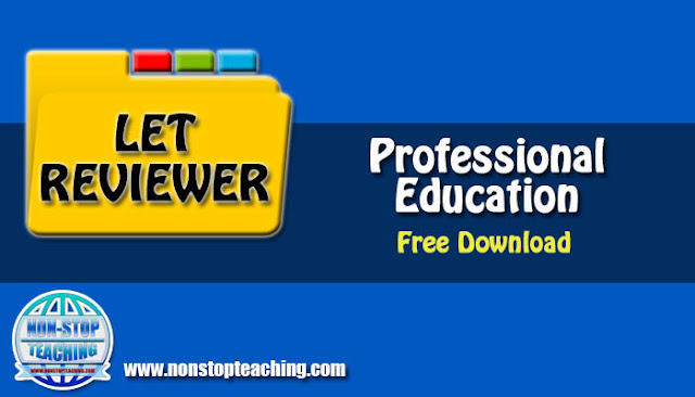LET Reviewer for Professional Education with Answer Keys