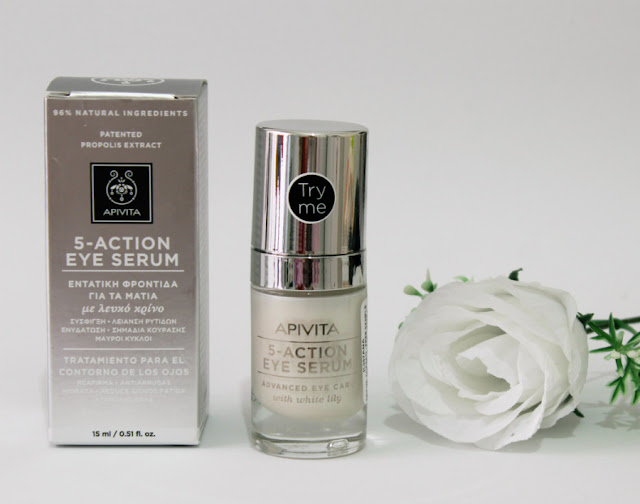 Apivita 5-action eye serum