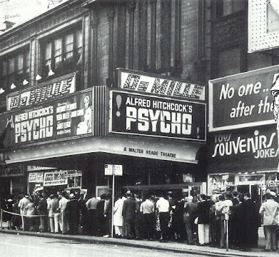 Estreno de Psicosis, 1960