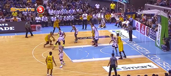 Paul Lee with the NASTY Double Crossover On Arwind Santos (VIDEO)