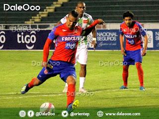 Oriente Petrolero cae 2 a 1 en el final del partido con Universitario en Sucre - DaleOoo