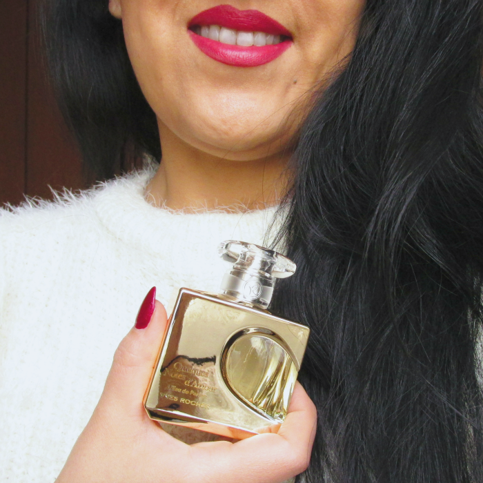 Yves Rocher Blogger Challenge Quelques Notes d'Amour Parfum