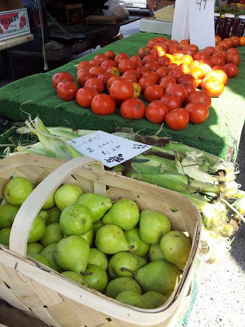 Shop at local farmer's Markets. Buy what you need