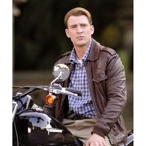 Gambar Jaket Kulit Captain America
