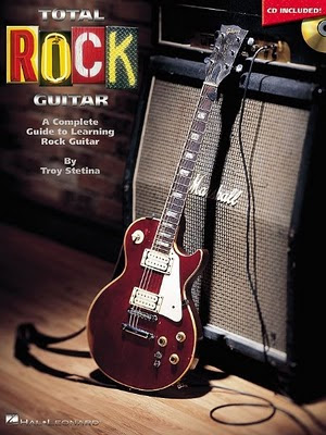 Libro de guitarra estilo rock