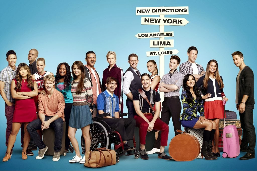 Teenage Fanatic: Glee-cap: Season 5, Episode 2, PLUS info on 'The