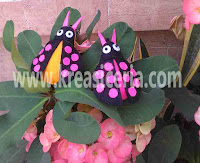 Tutorial Membuat Gantungan Kunci Kumbang Kepik Cantik