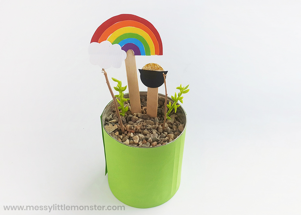How to make a leprechaun trap St Patricks day craft