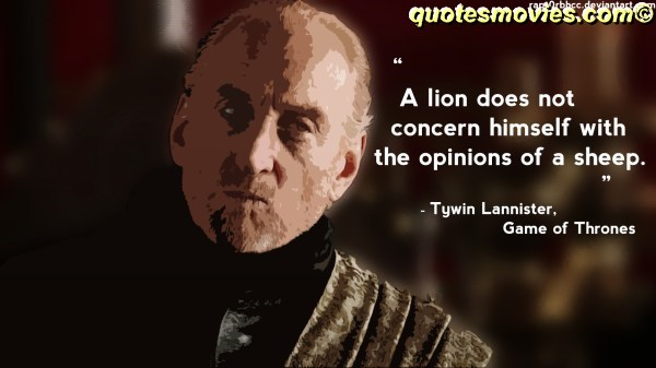 Tywin Lannister Lion and sheep