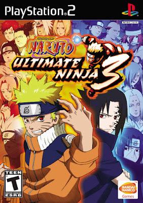 Naruto: Ultimate Ninja 3 PS2 GAME ISO