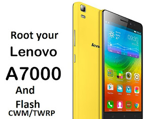 Lenovo A7000 Rooting and TWRP