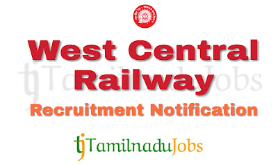 WCR Recruitment notification of 2019, govt jobs for ITI