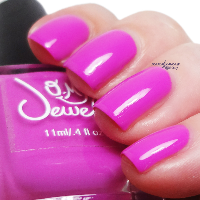 xoxoJen's swatch of O My Jewels Love Junkie