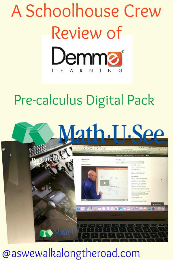 A Schoolhouse Crew Review of the Precalculus Digital Pack from Math ...