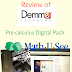 A Schoolhouse Crew Review of the Precalculus Digital Pack from Math-U-See: Can This Solve Our Math Woes?