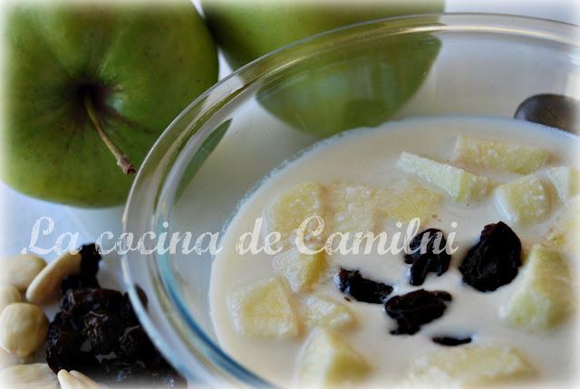 Ajo blanco (La cocina de Camilni)