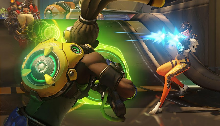 overwatch lucio and tracer