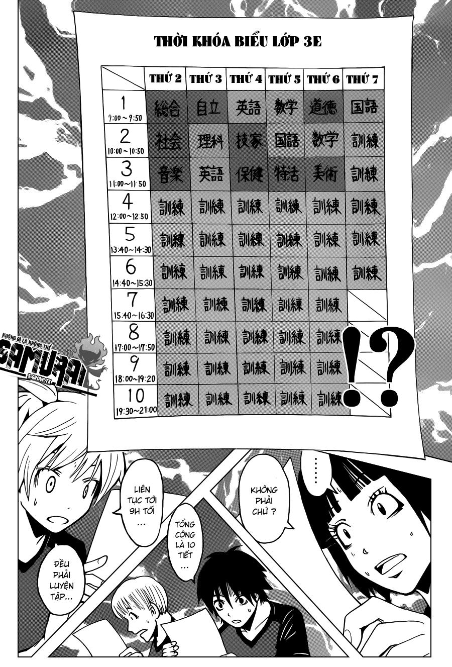 Ansatsu Kyoushitsu chap 39 trang 11