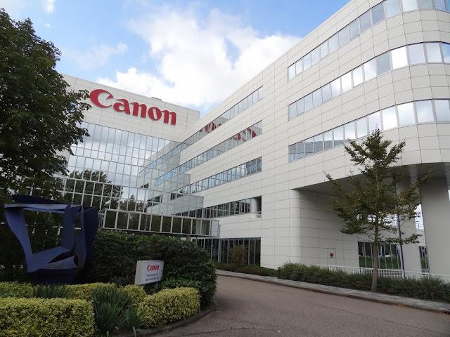 Sejarah dan perkembangan perusahaan canon jepang. produk baru yang diluncurkan diantaranya lensa, slr, fotokopi, laserjet, inkjet., FAX 705, CLC 500, EOS 1, Notebook hasil kerjasama dengan IBM