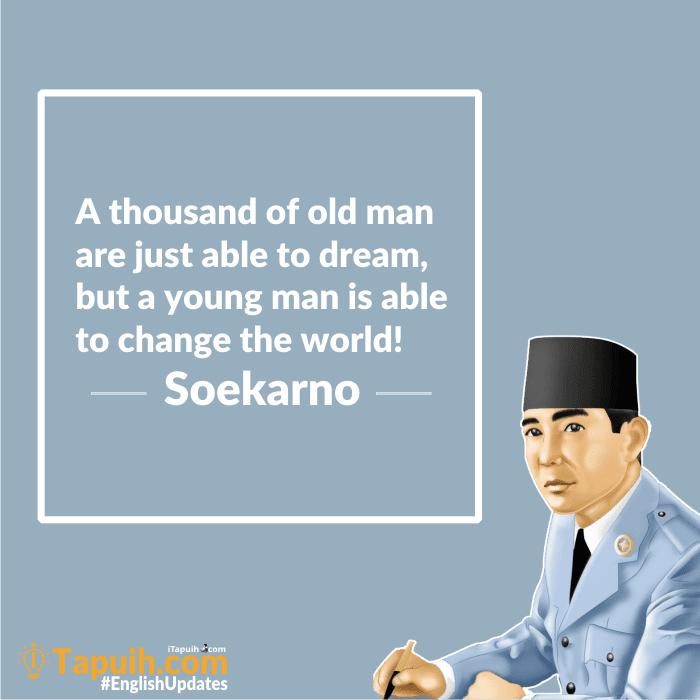 Soekarno Quotes English 1