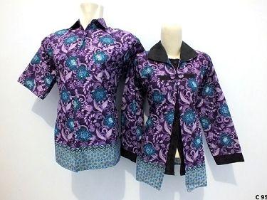 10+ Model Baju Batik Guru Modern yang Paling Banyak di ...