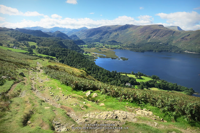 Walla crag view Borrowdale keswick walk lake district