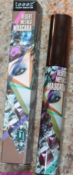 Teeez Trendy Cosmetics Mascara Midnight Sky review, swatch, photos