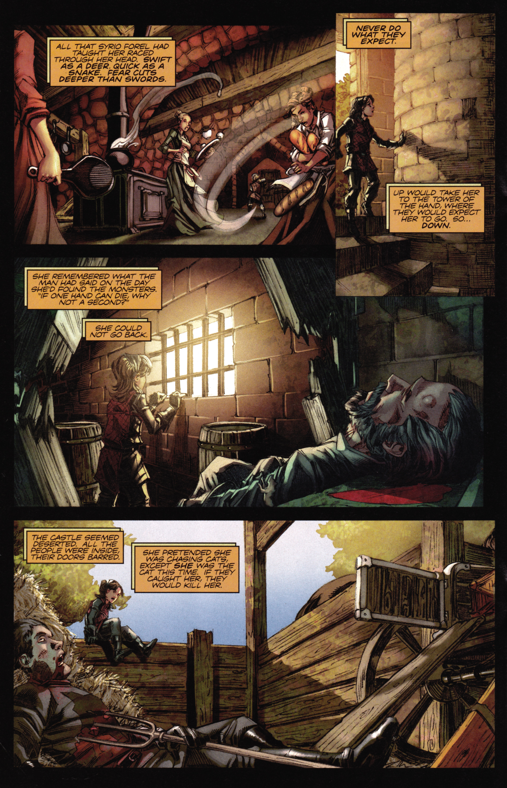 Read online A Game Of Thrones comic -  Issue #16 - 20