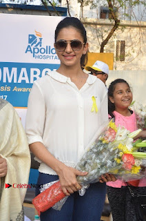 Actress Rakul Preet Singh at Endometriosis Awareness Walk at Apollo Cradle  0023.jpg
