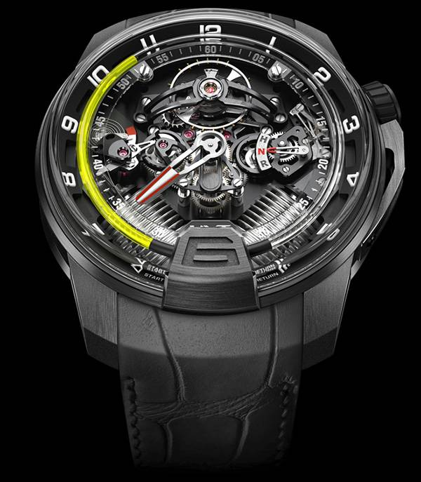 Cool Car Gifts For Guys: HYT H2 HYDRO MECHANICAL WATCH