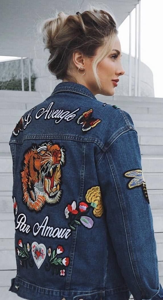 beautiful denim jacket