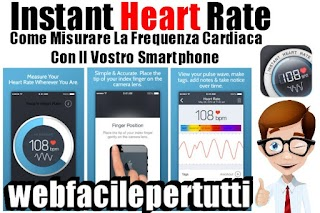 Instant Heart Rate App   Come Misurare La Frequenza Cardiaca Con Il Vostro Smartphone