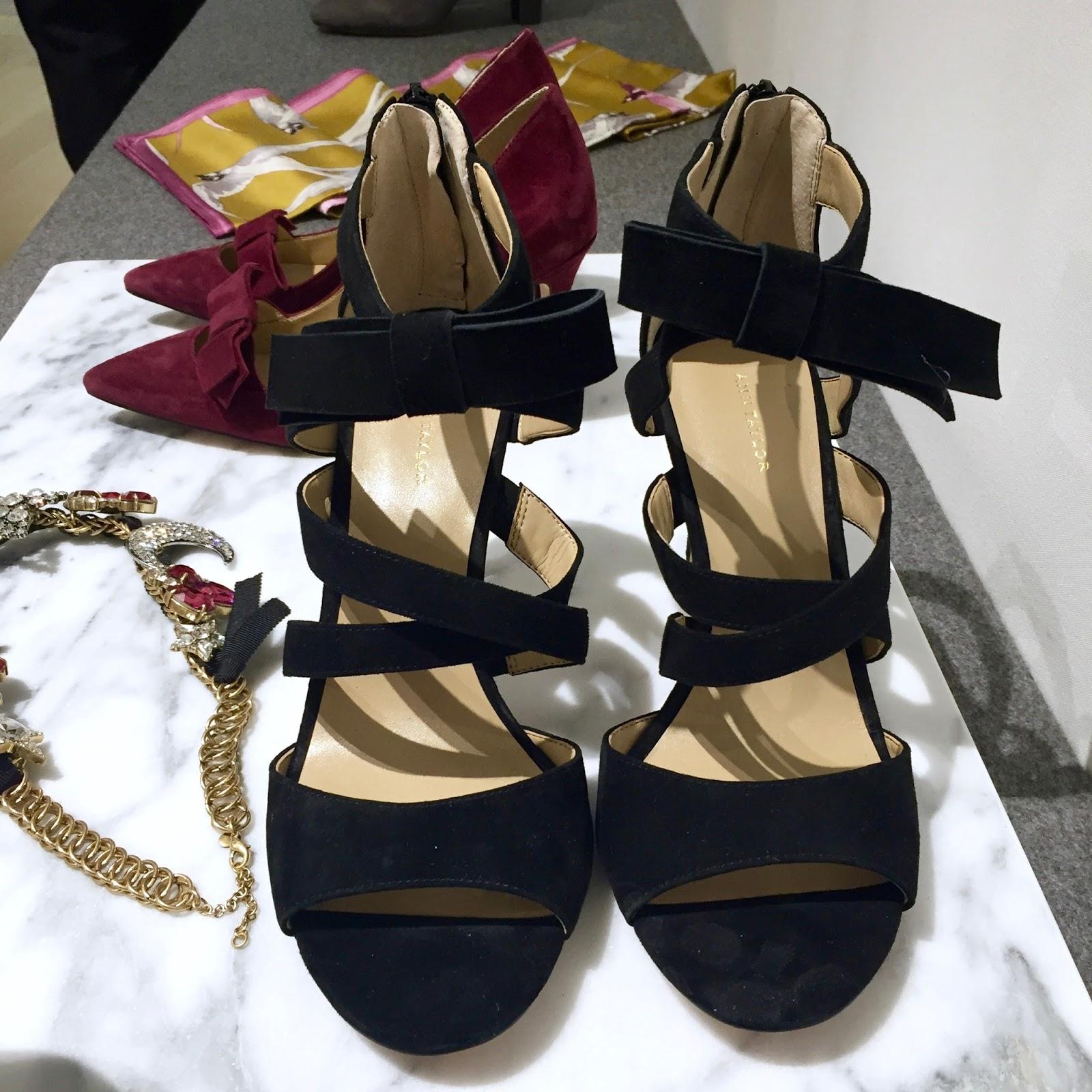 ann taylor strappy heels