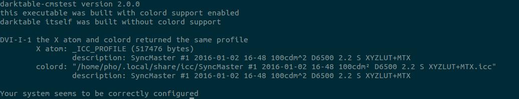 Display calibration and profiling in Ubuntu with ColorHUG: January 2016