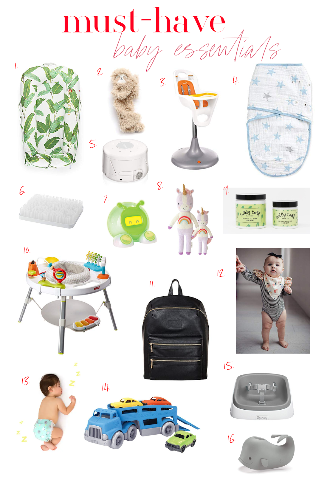 Most-Loved Baby Essentials