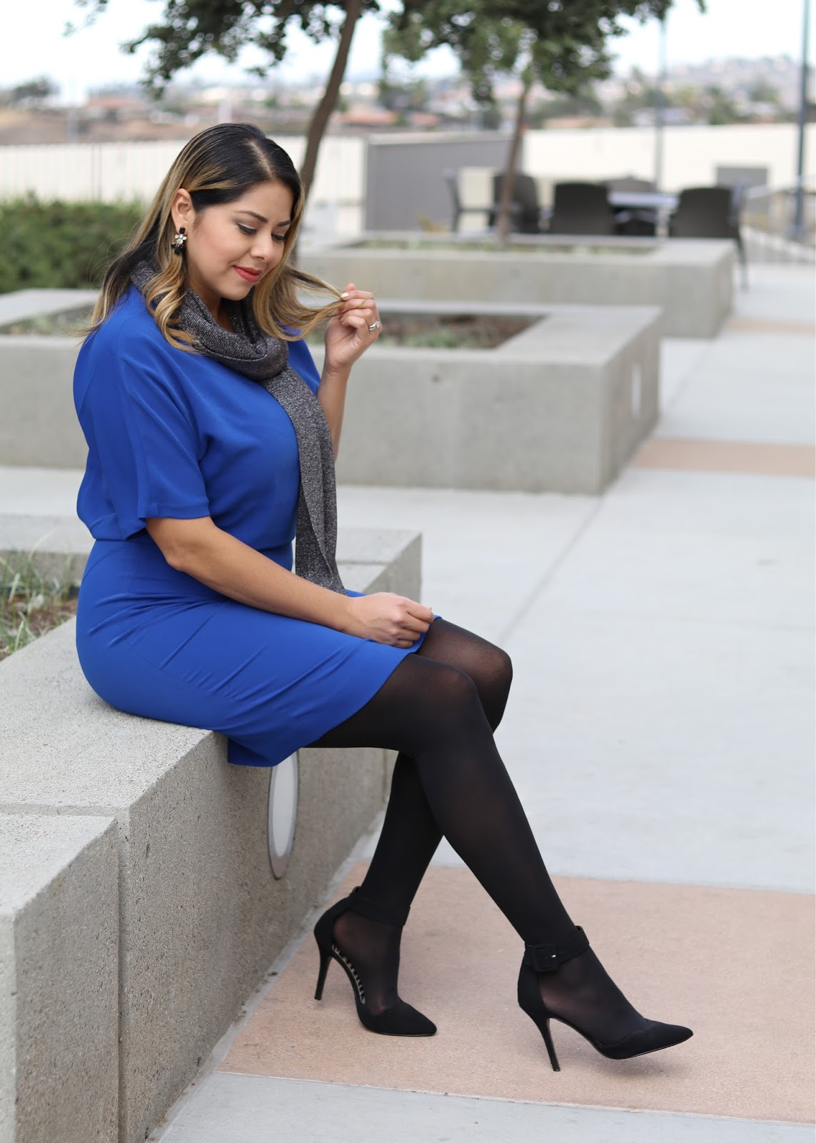 Holiday Look for the Office, San Diego Fashion Blogger, Holiday Outfits in San Diego