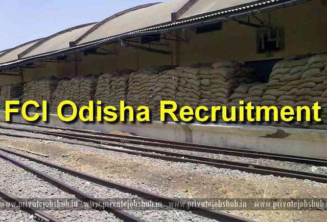 FCI Odisha Recruitment