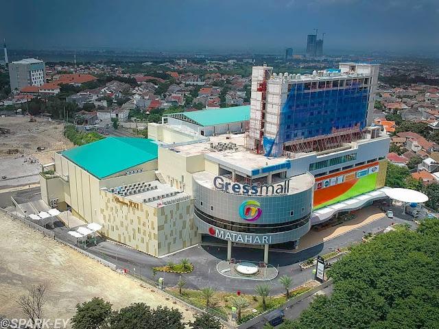 Foto Drone Gress Mall Gresik Mall