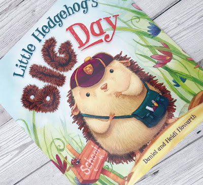 Little Hedgehog's Big Day book cover