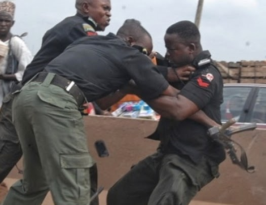 Check Out Nigerian Police Funniest Pictures Ever Captured On Camera