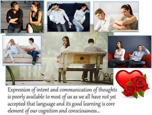 This Scary Incoming & Outgoing 'Im-Pression' and 'Ex-pression' Signaling System And 'Spectrum Scam' Of Human Brain Has 'Demonetized' Communication And Intent-Expression In Relationships…!