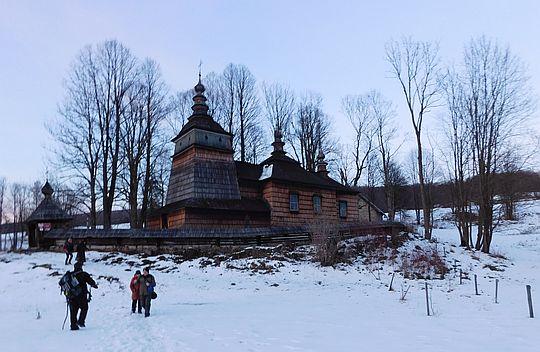 Cerkiew greckokatolicka pw. Świętych Kosmy i Damiana w Bartnem.