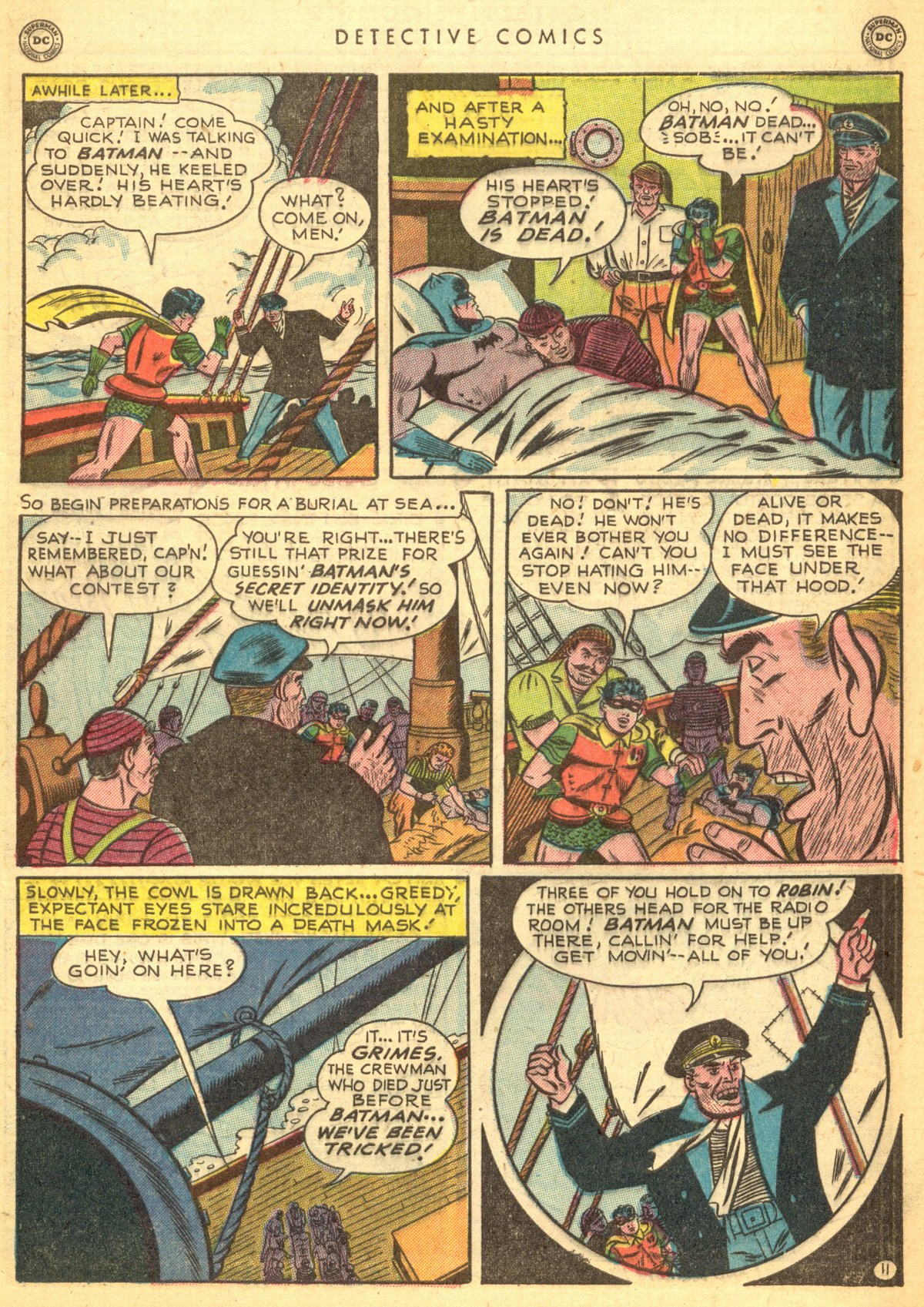 Read online Detective Comics (1937) comic -  Issue #170 - 13