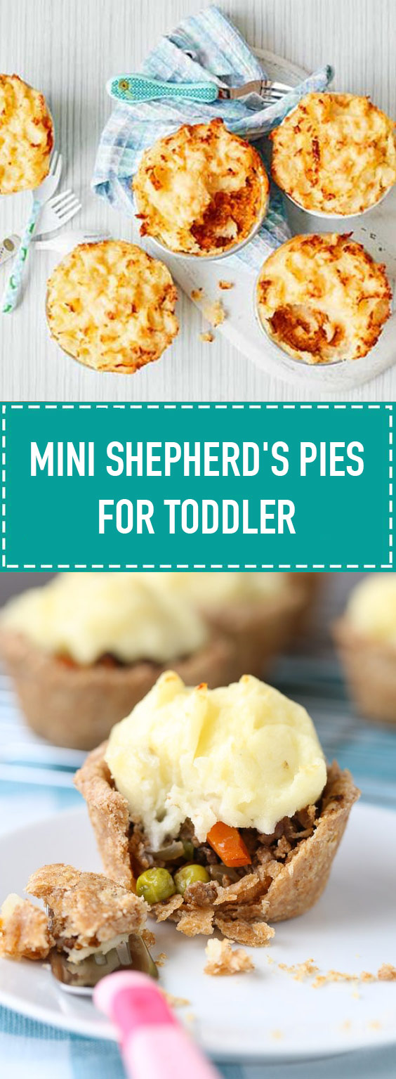 Mini Shepherd's Pies for Toddler