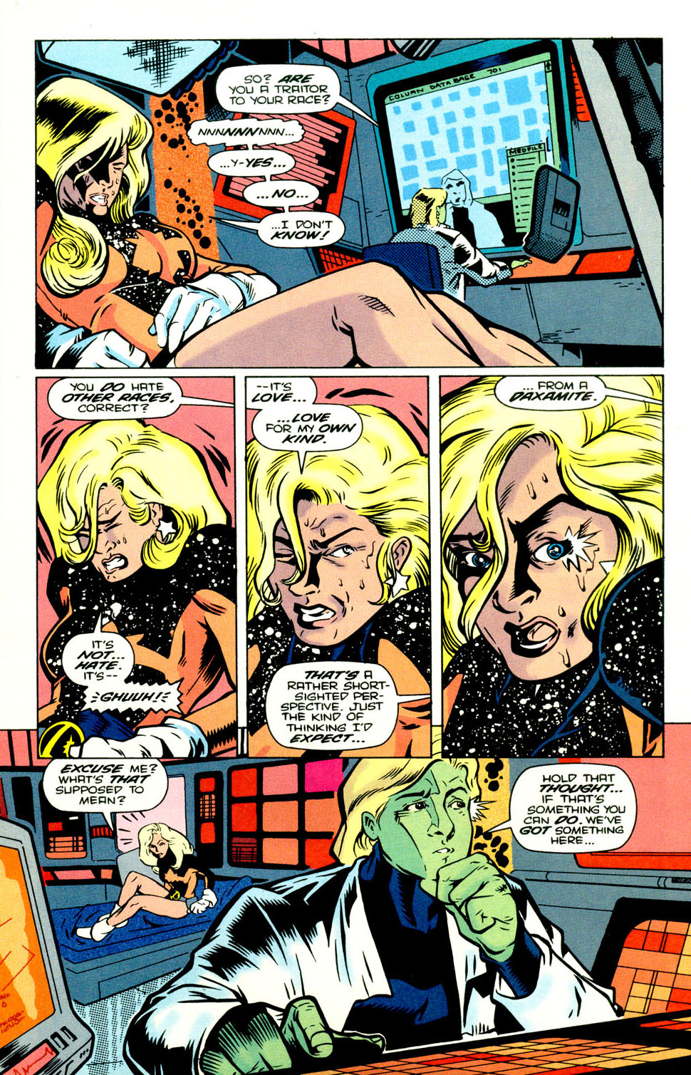 Legion of Super-Heroes (1989) 70 Page 15