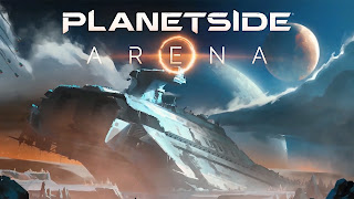 Planetside Arena Cover Wallpaper