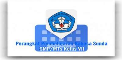 Perangkat Pembelajaran Bahasa Sunda SMP/MTs Kelas VII