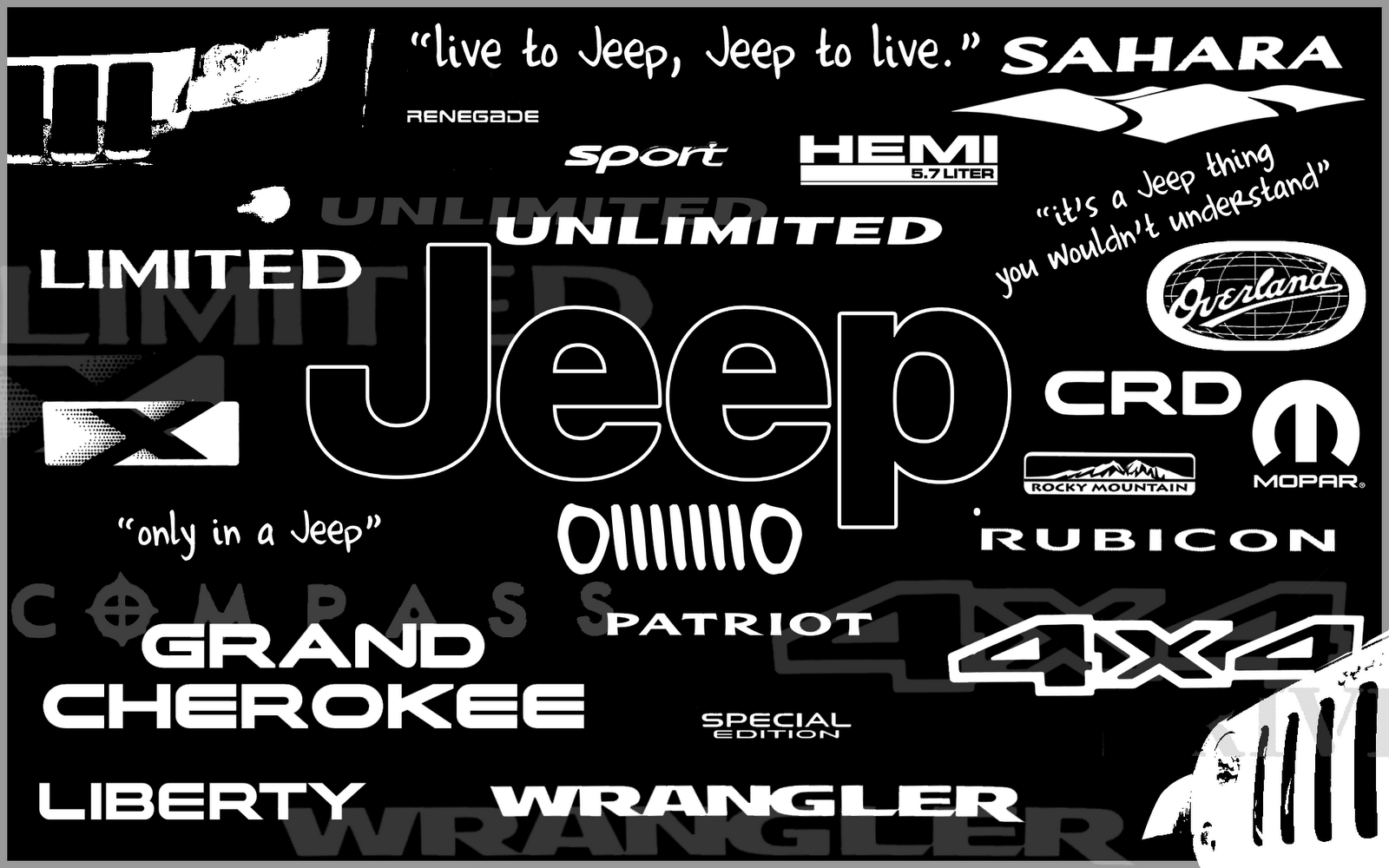 jeep hd desktop logos wallpapers screen jeeps обои stuff wallpapersafari джип источник cars