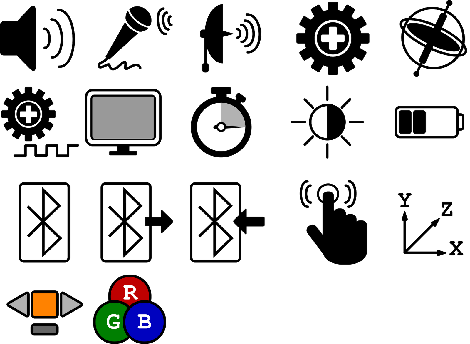 30 and Counting: LEGO Mindstorms NXT Icons