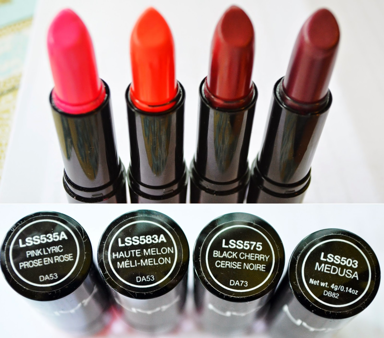 The gallery for --> Nyx Round Lipstick Swatches Haute Melon
